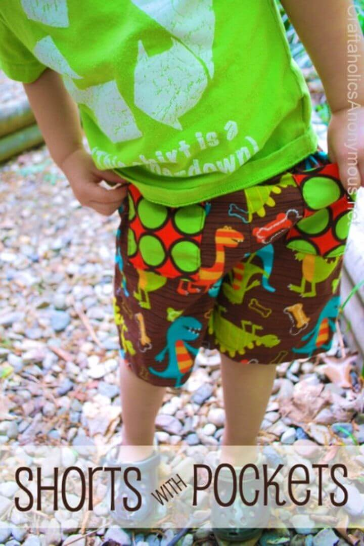 Easy to Make Shorts with Pockets