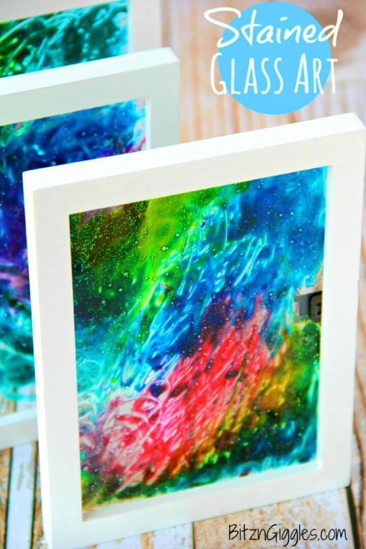 Easy to Make Stained Glass Art
