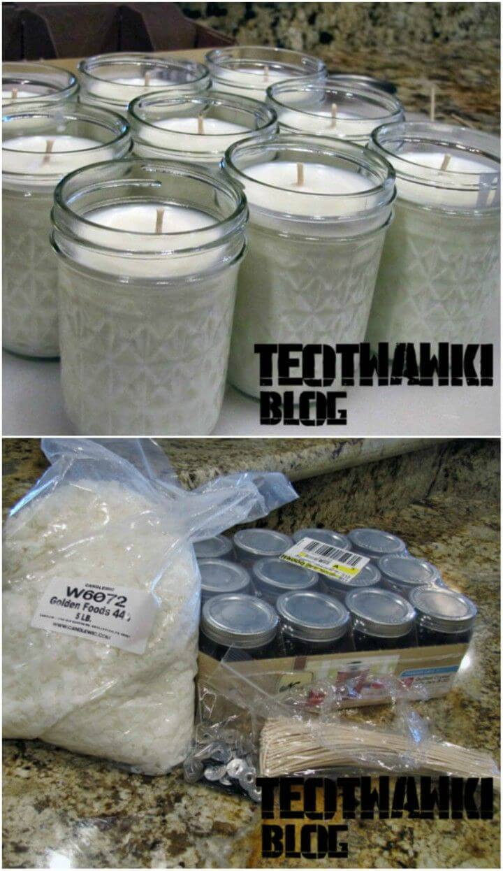 Easy to Make Survival Candles