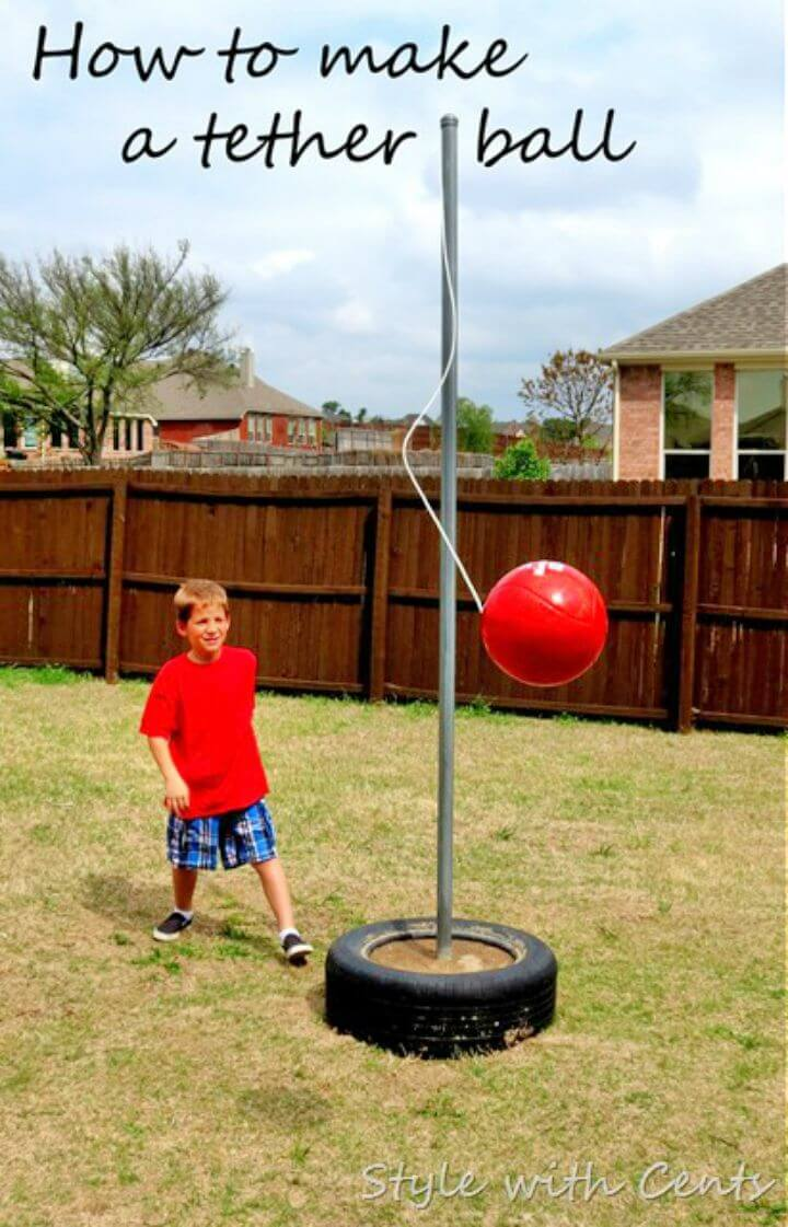 Easy to Make Tetherball