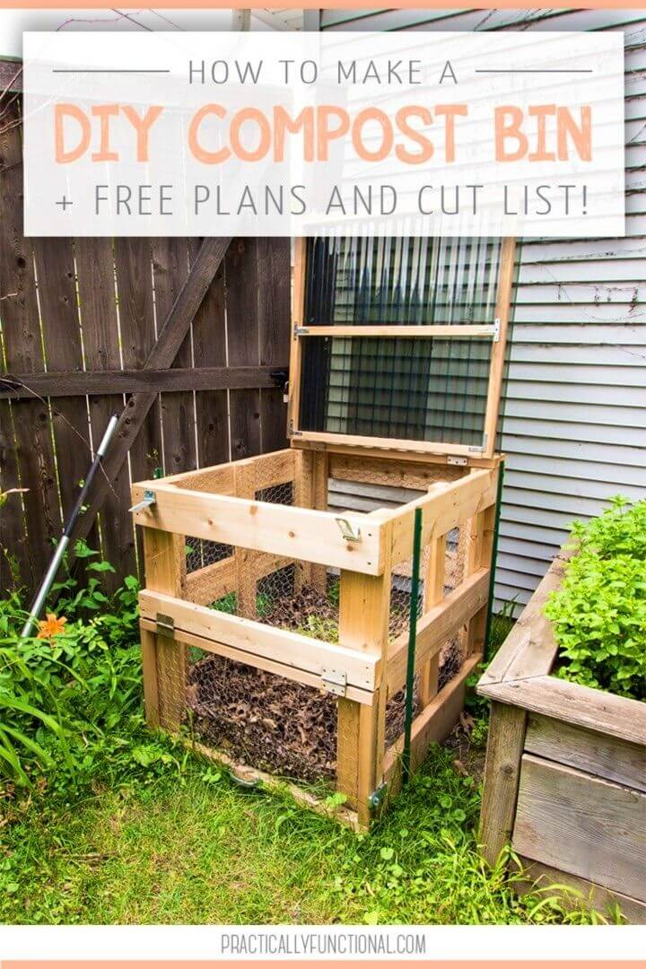 How To Build Compost Bin Perfect Garden Project