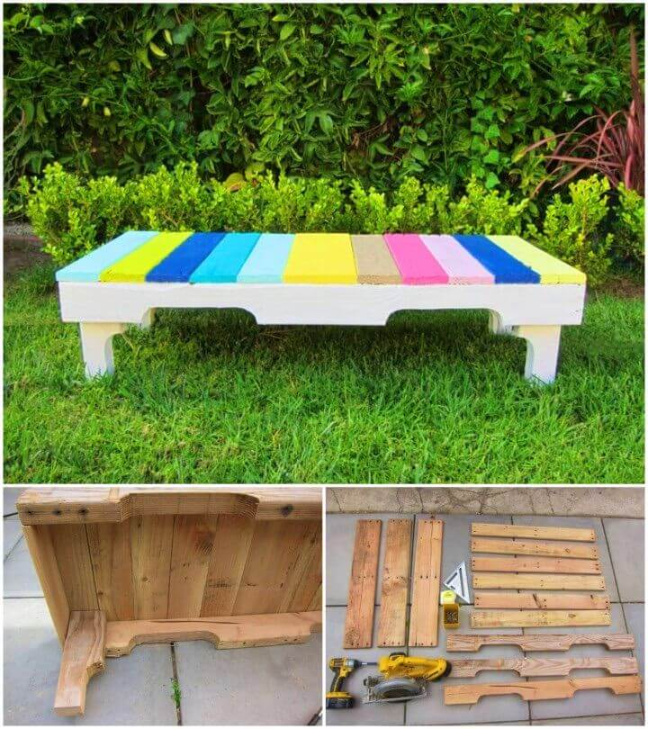 How To Build Wooden Pallet Benches