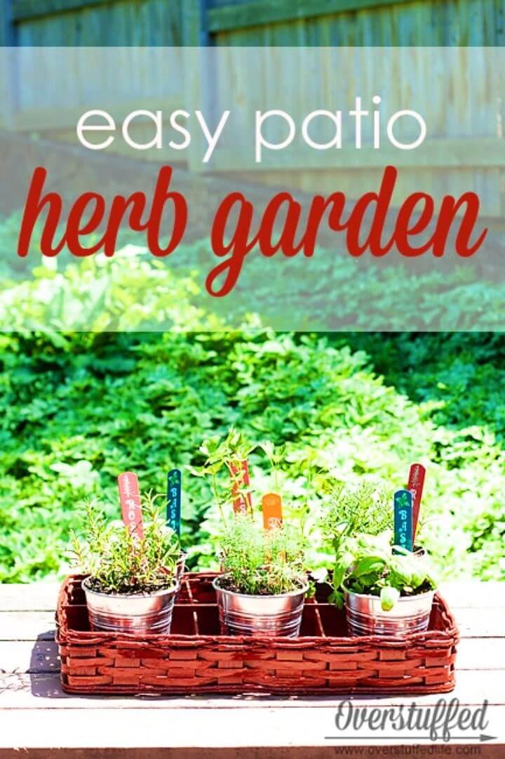How To Make Patio Herb Garden