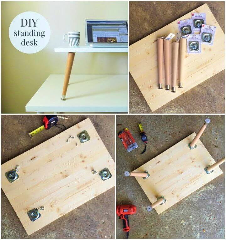 How To Make a Standing Desk Add on