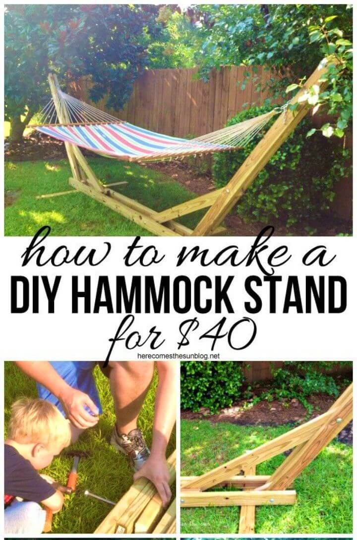 How to Build Hammock Stand