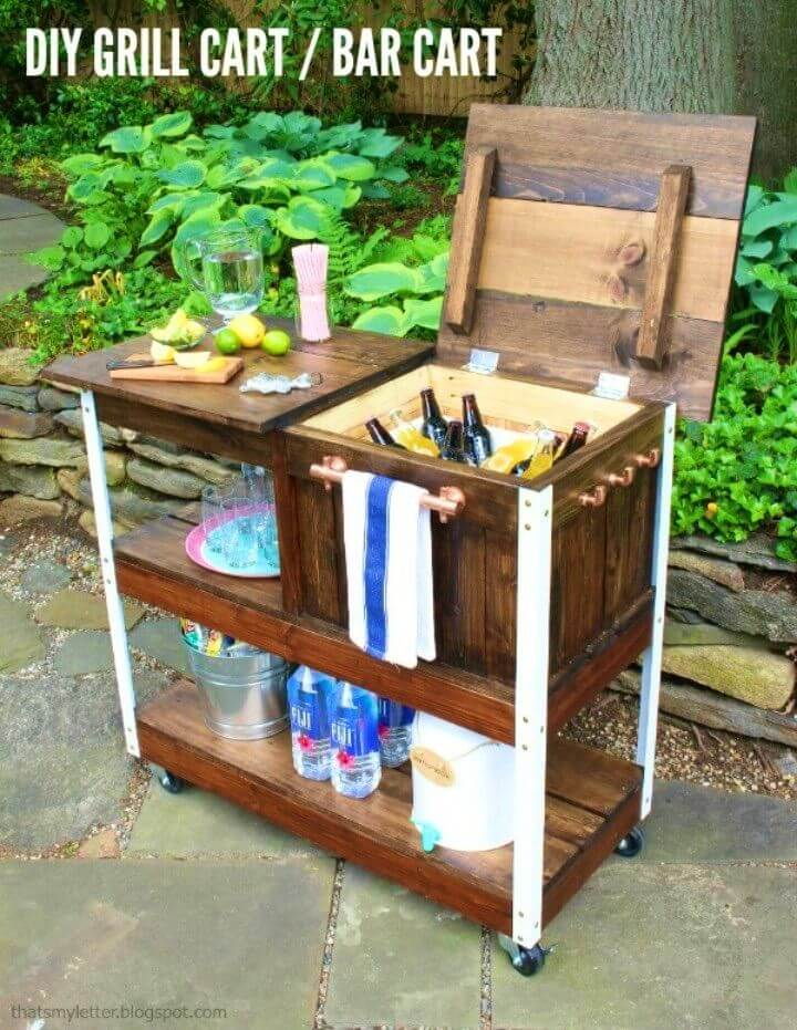 How to Build Grill Cart Or Bar Cart
