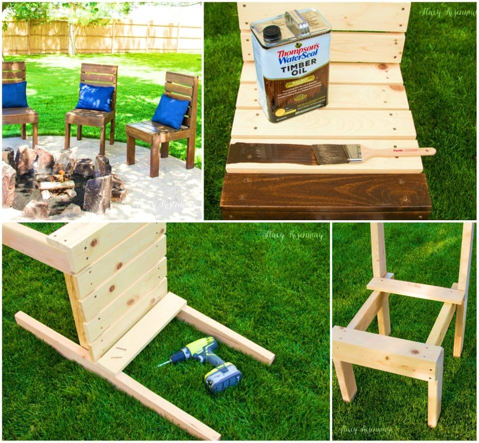 How to Build Outdoor Chairs