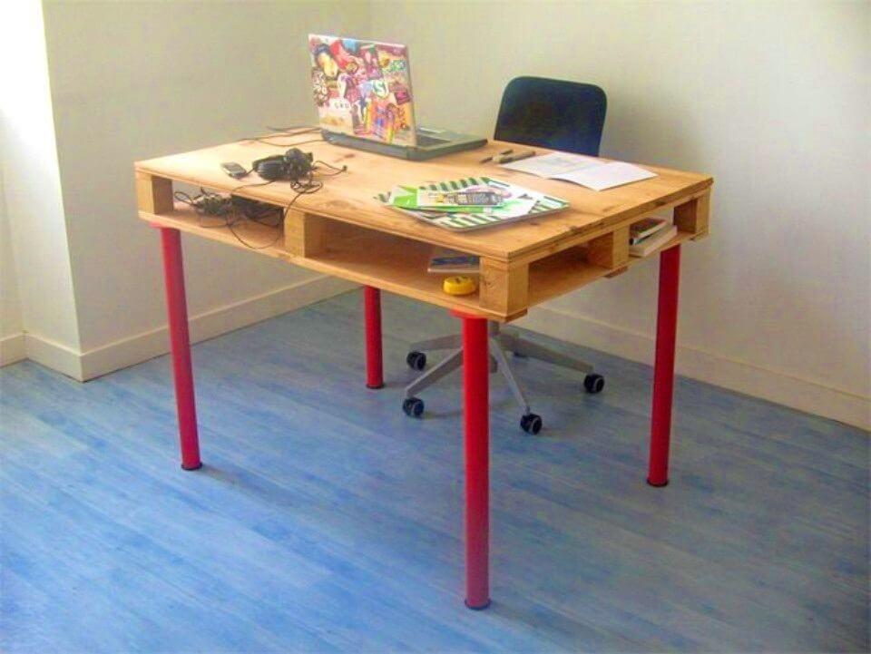 How to Build Pallet Desk