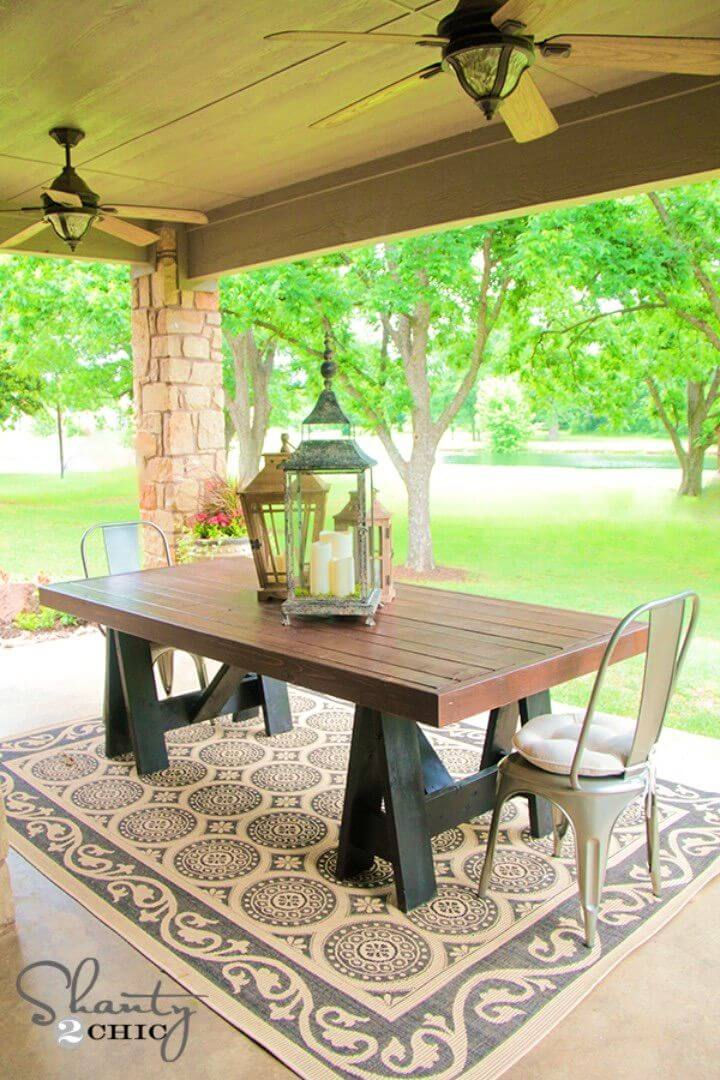How to Build Pottery Barn Inspired Table