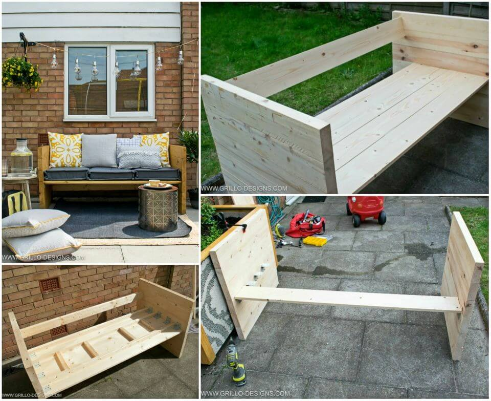 How to Build an Outdoor Sofa
