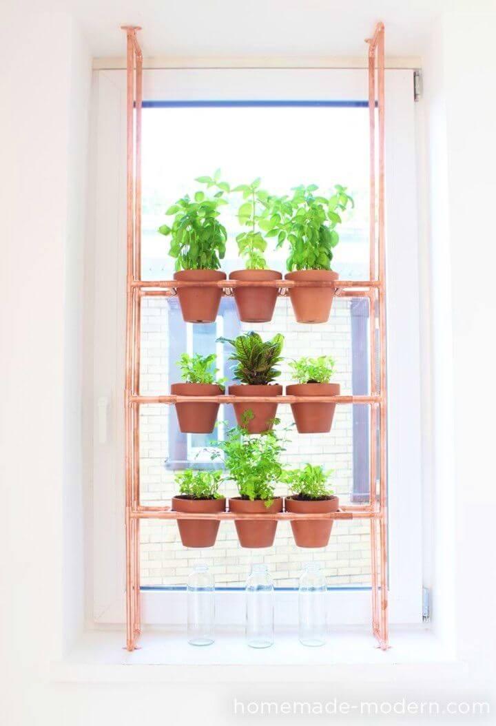 How to Create Copper Herb Garden