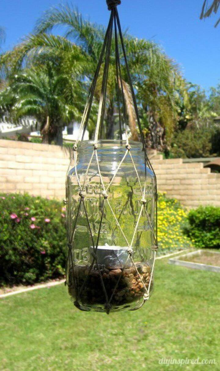 How to Create Recycled Mason Jar Lantern