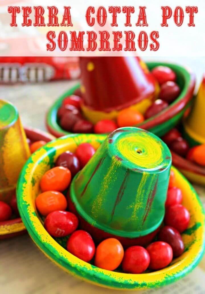 How to Create Terra Cotta Pot Sombreros