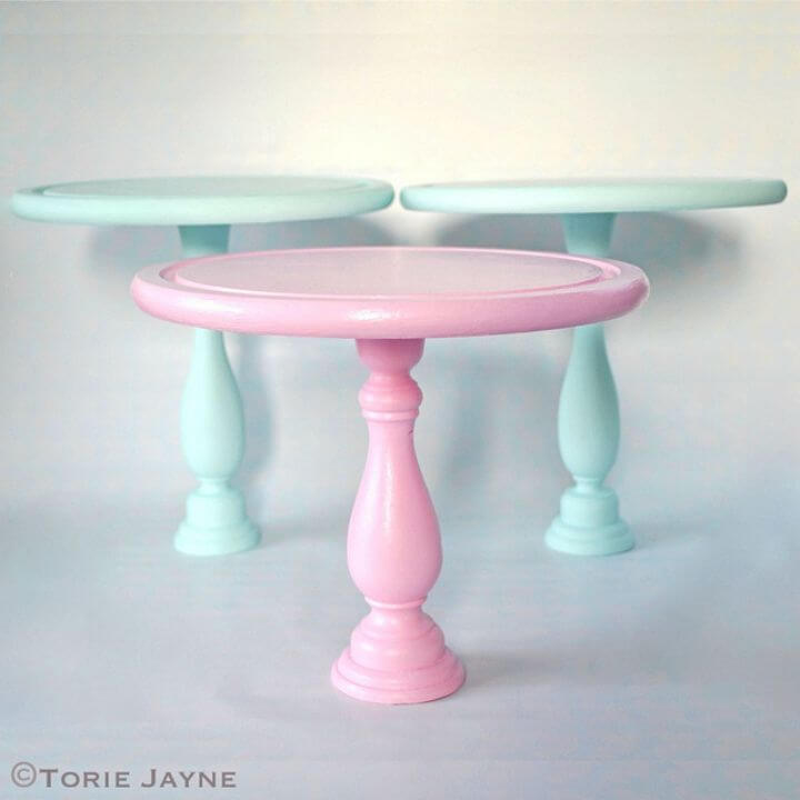 How to DIY Cake Stands