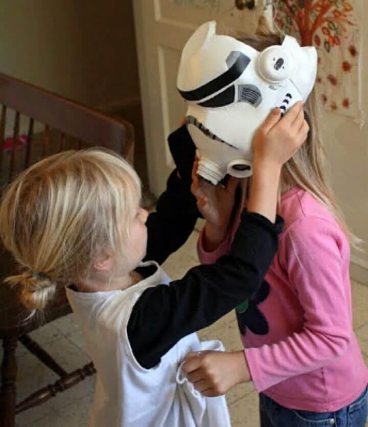 How to DIY Milk Jug Storm Trooper Helmet
