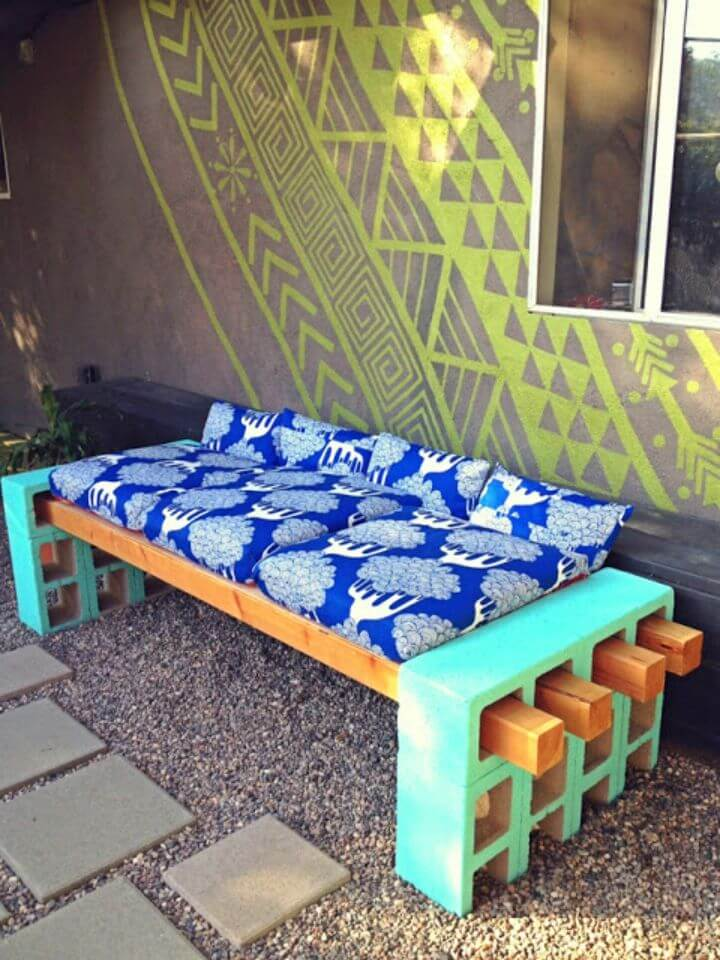 How to DIY Outdoor Seating