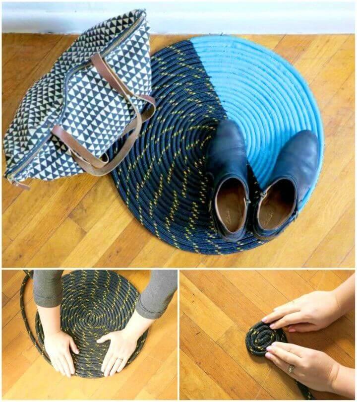 How to DIY Rope Rug