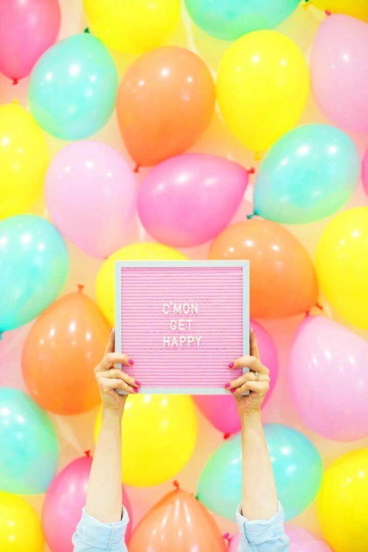 How to Make Balloon Photo Backdrop