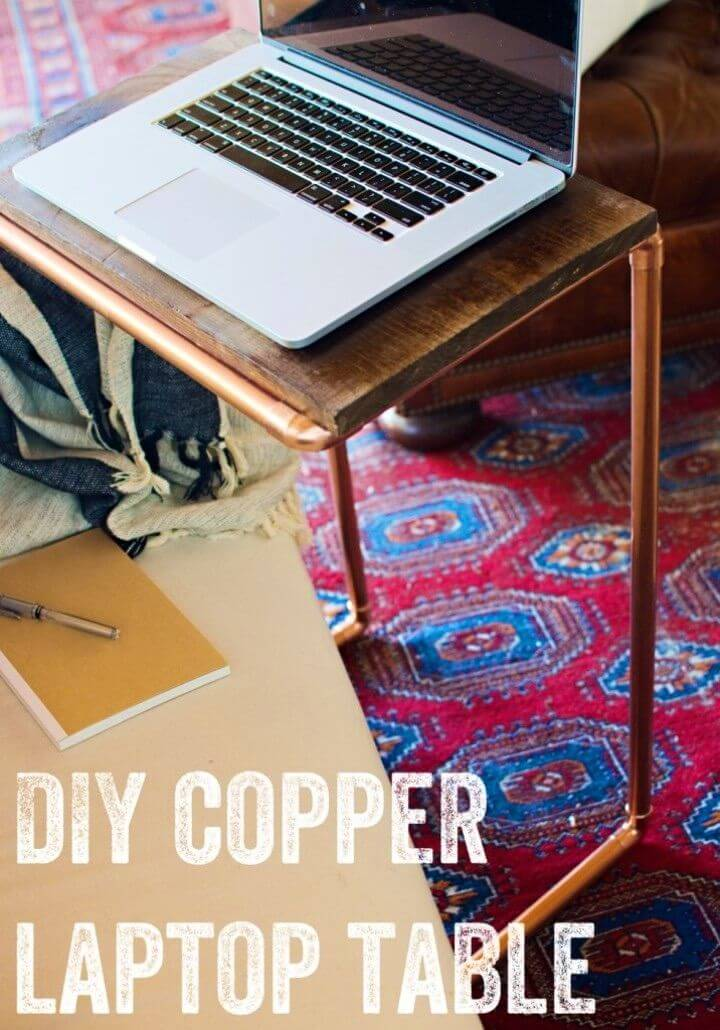 How to Make Copper Laptop Table