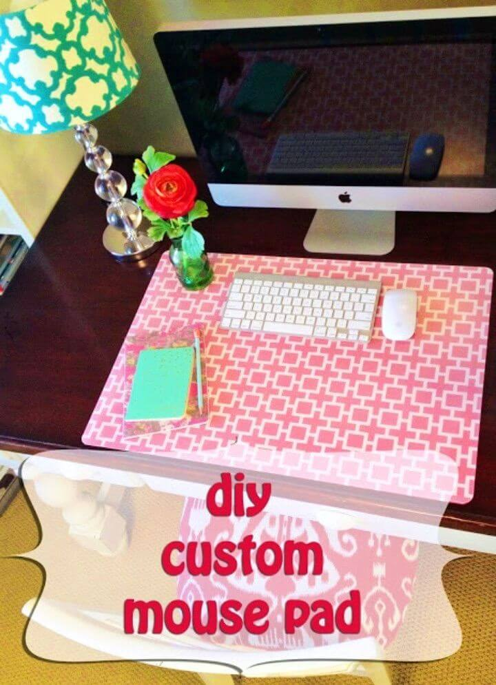 How to Make Custom Desk Pad
