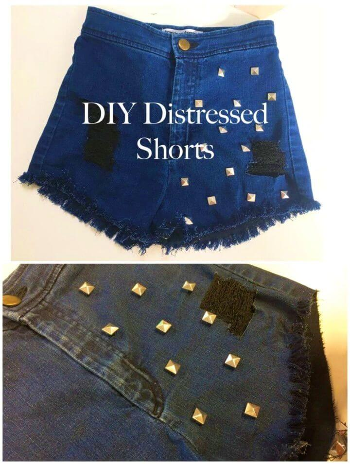 How to Make Distressed Shorts