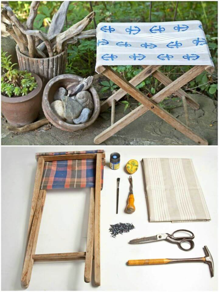 How to Make Garden Stool
