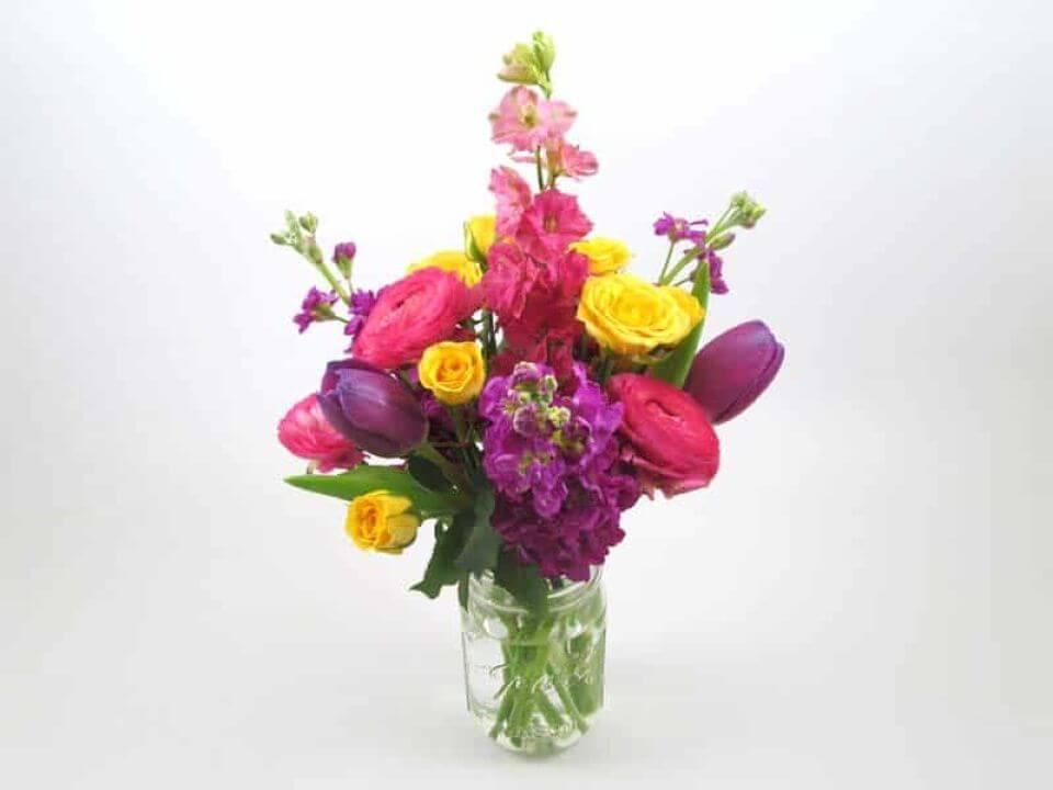 How to Make Grid Vases Wedding Centerpiece
