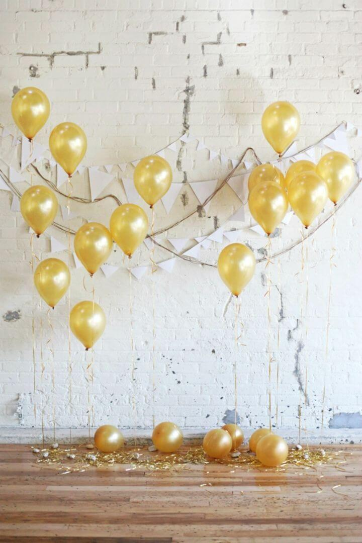 How to Make Holiday Party Backdrop