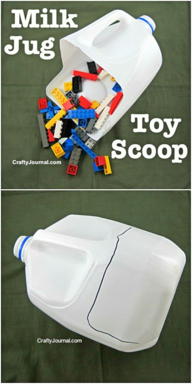 How to Make Milk Jug Toy Scoop