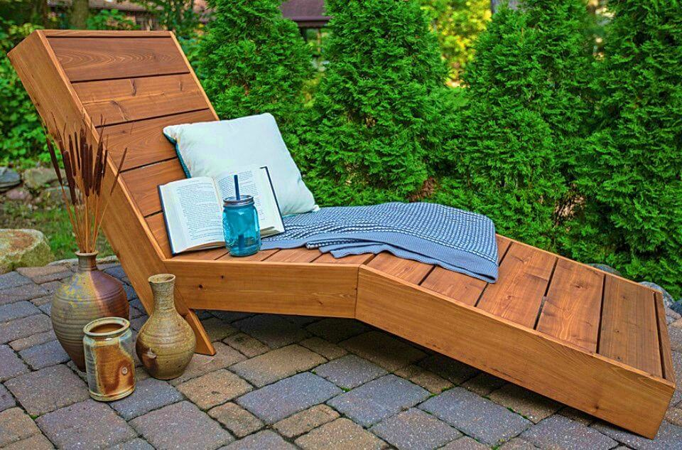 How to Make Outdoor Chaise Lounge