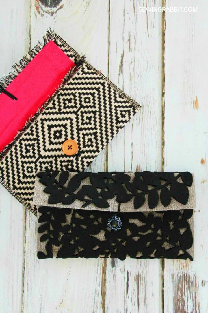 How to Make Placemat Clutch