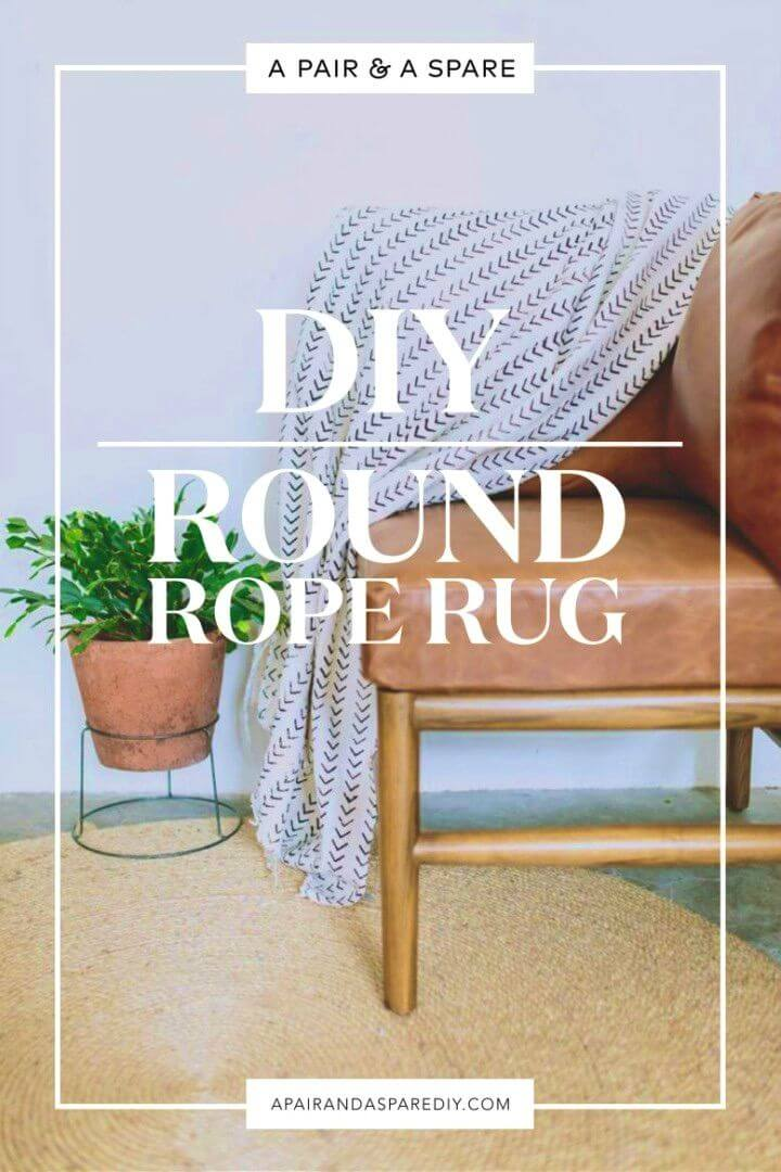 How to Make Round Rope Rug