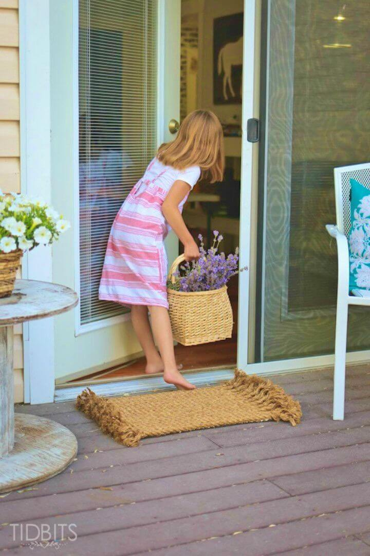 How to Make Rug from Rope
