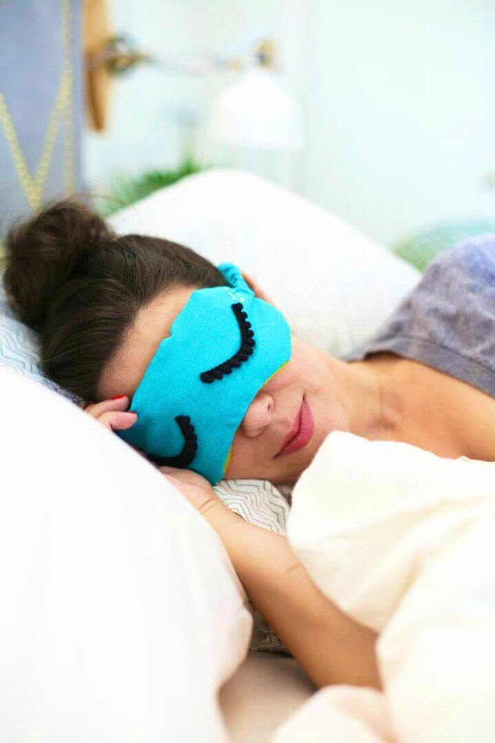 How to Make Sleepy Eye Mask