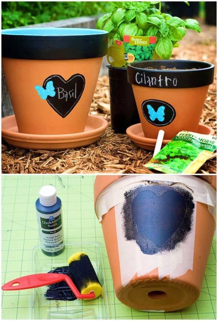 How to Make Terra Cotta Using Chalkboard Paint