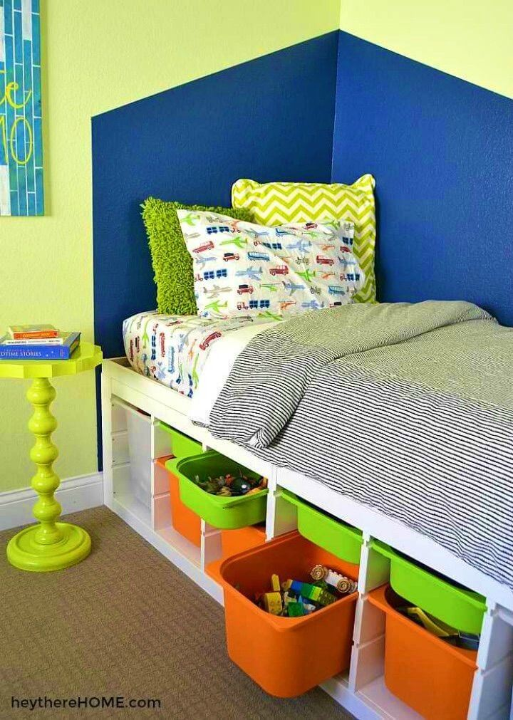 How to Make Twin Storage Bed