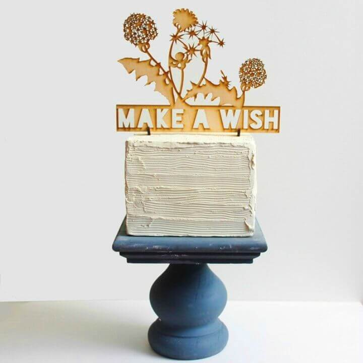 How to Make Wood Cake Stands