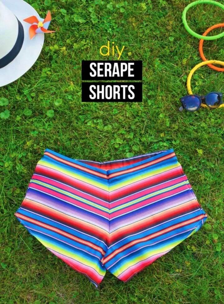 How to Sew Breezy Serape Shorts