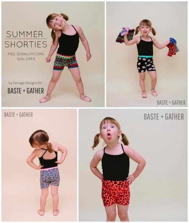 How to Sew Summer Shorties