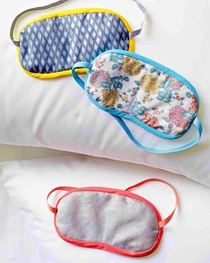 How to Sew a Sleep Mask for a Better Night's Rest