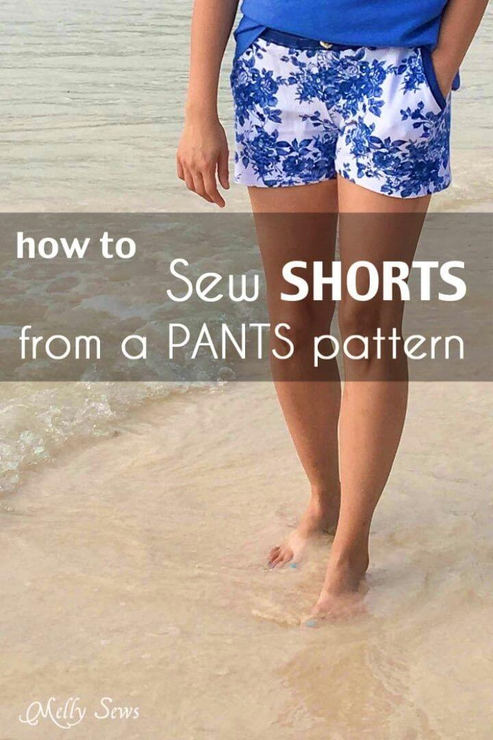 How to Turn Pants Into Shorts