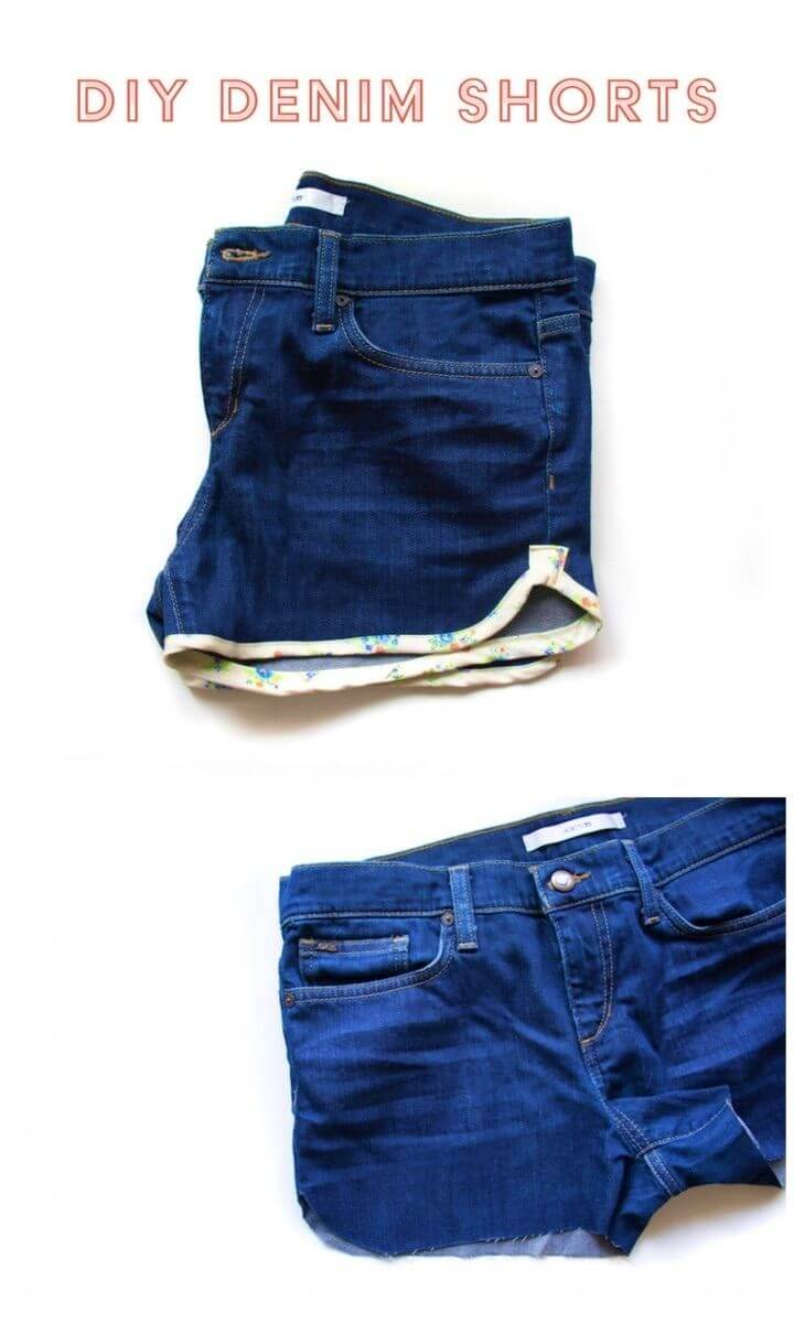 How to Update Denim Shorts