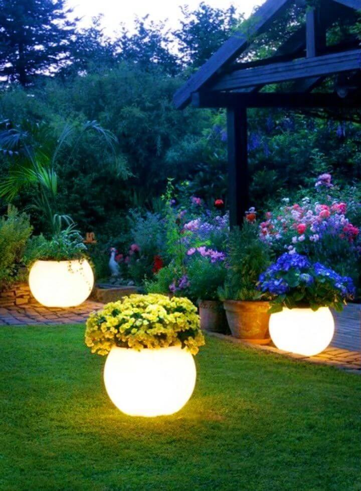 Make Glow In The Dark Planters