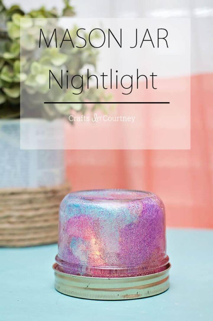 Make Mason Jar Night Light