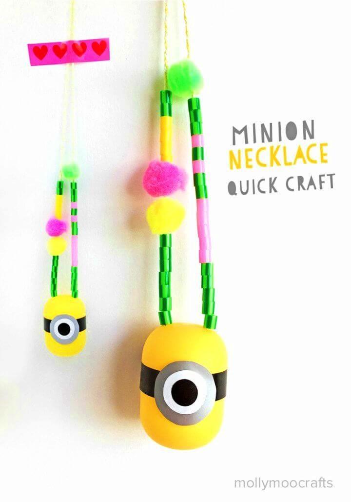 Make Minion Necklace