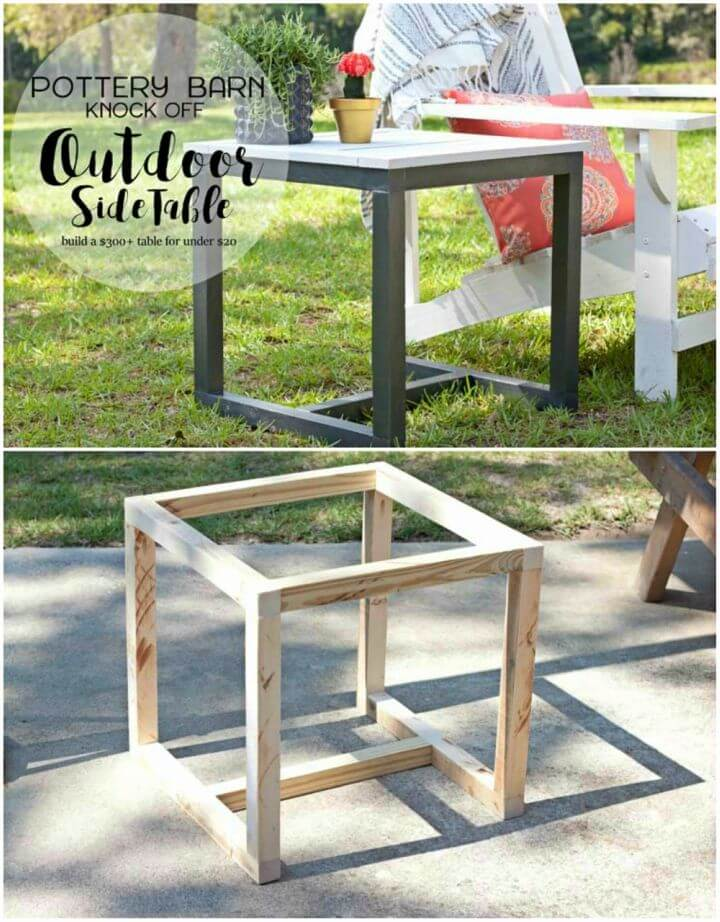 Make Outdoor Side Table