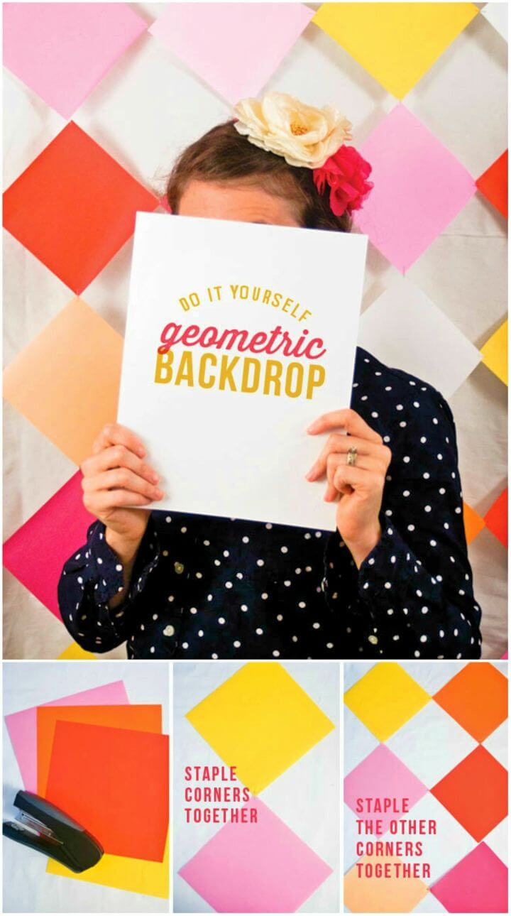 Make Photobooth Backdrop