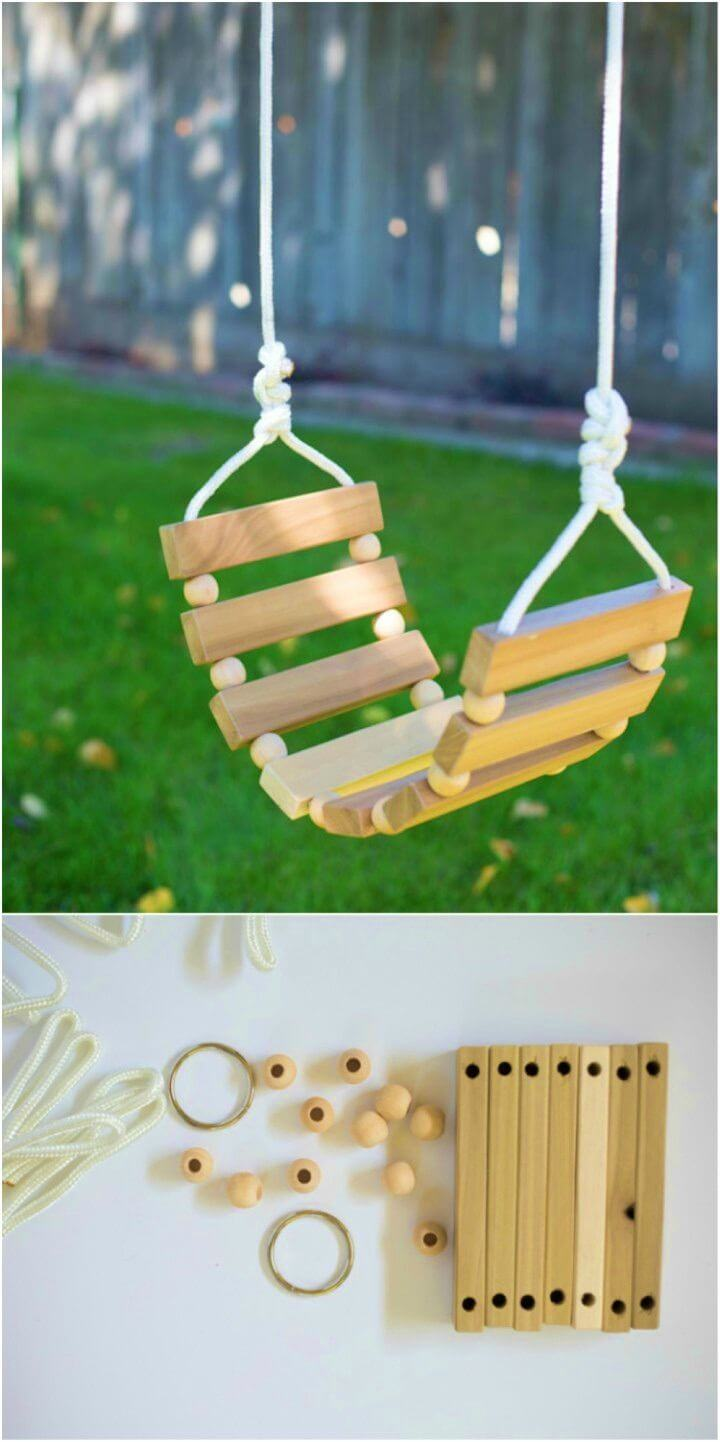 Make Tree Swing for Kids and Adults