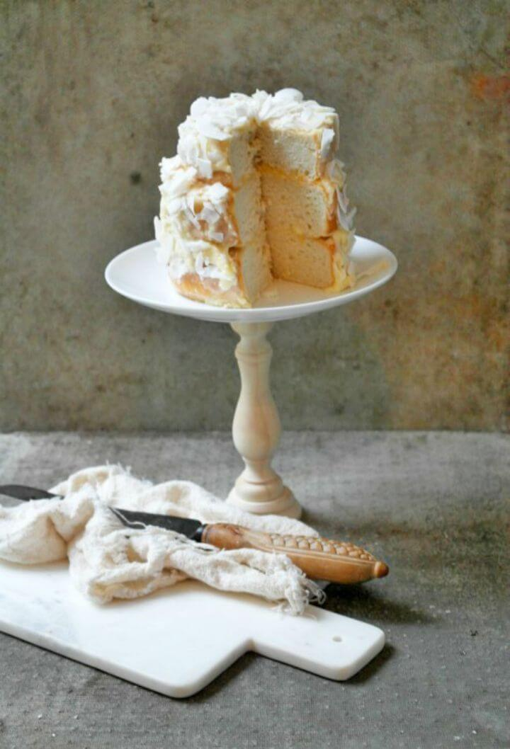 Make Wooden Cake Stand