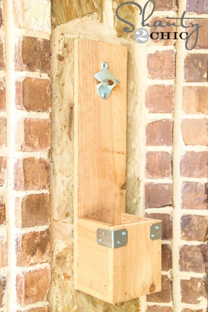 Make Your Own Bottle Opener in Your Backyard